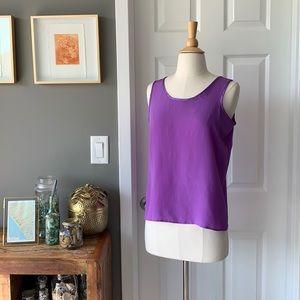 Vintage purple silk camisole 3103